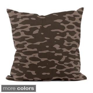 16 x 16-inch Animal Printed Decorative Throw Pillow