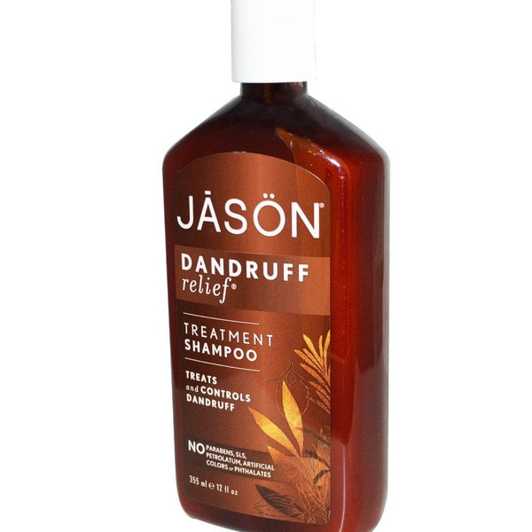 Jason Natural Cosmetics Dandruff Relief 12-ounce Shampoo (Pack of 4)