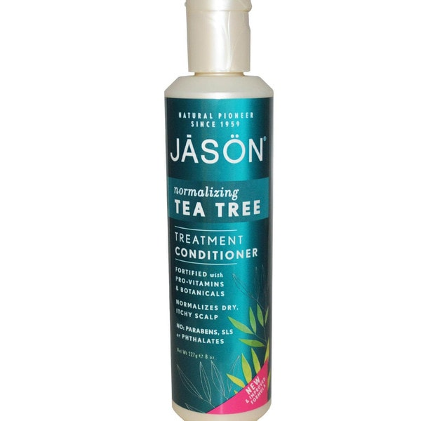 Jason Naturals Tea Tree Oil Therapy 8-ounce Conditioner (Pack of 2)
