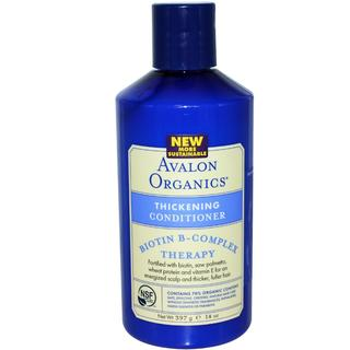 Avalon Organics Biotin B-Complex Thickening 14-ounce Conditioner (Pack of 4)