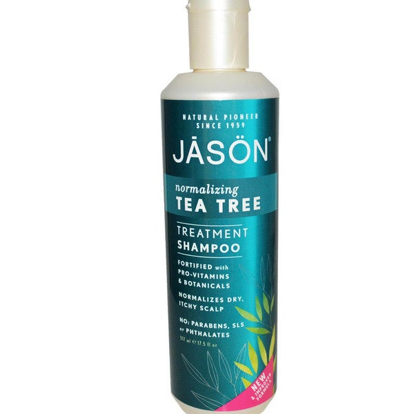 JASON Tea Tree Normalizing Treatment 17.5-ounce Shampoo (Pack of 2)