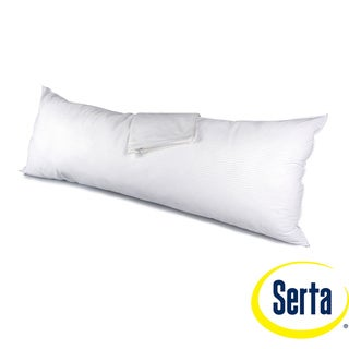 Serta Perfect Day Outlast Body Pillow with Protector