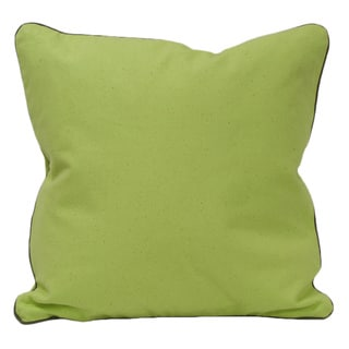 Green Organic Cotton Solid Pillow (Set of 2)