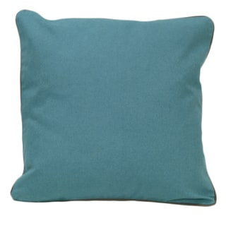 Teal Organic Cotton Solid Pillow (Set of 2)