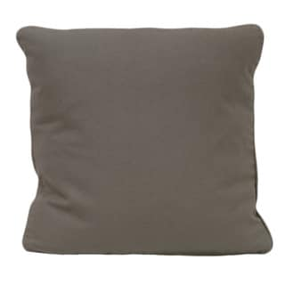 Grey Organic Cotton Solid Pillow (Set of 2)