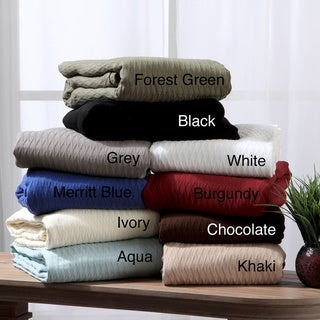 All-season Luxurious 100-percent Cotton Blanket