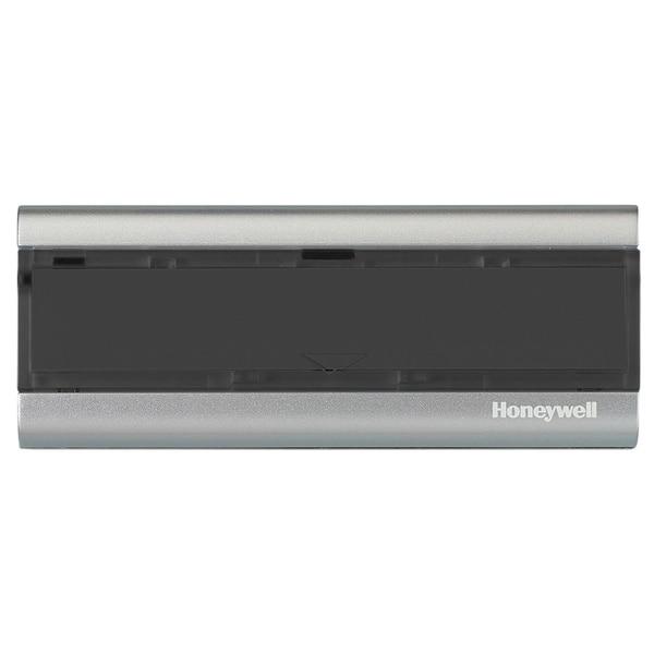 Wireless Premium Black/ Silvertone Push Button