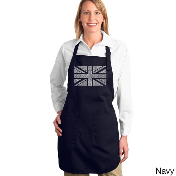 Union Jack Cotton Kitchen Apron