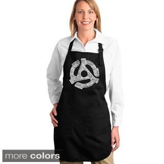 Record Adapter Cotton Kitchen Apron