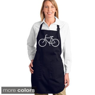Save a Planet, Ride a Bike Kitchen Apron