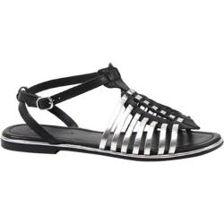 Women's Diba True Fire Sky Black/Silver Leather