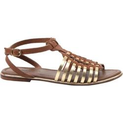 Women's Diba True Fire Sky Tan/Gold Leather