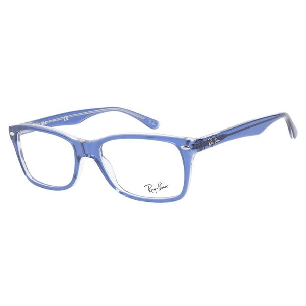 Best Lightweight Glasses Frames : Ray-Ban RB5228 5111 Top Light Blue Transparent ...