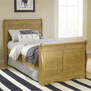 Lang Furniture Oak Creek Twin Sleigh Bed