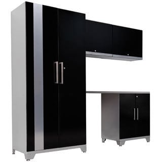 NewAge Products Performance Plus 5-piece Metal Cabinet Set