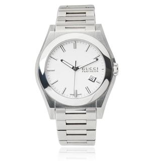 Gucci Men's Stainless Steel Pantheon Link Watch