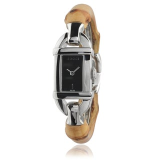 Gucci Women's Stainless Steel Bamboo Watch