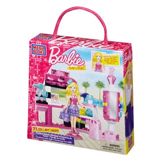Mega Bloks Barbie Build n Style Fashion Stand