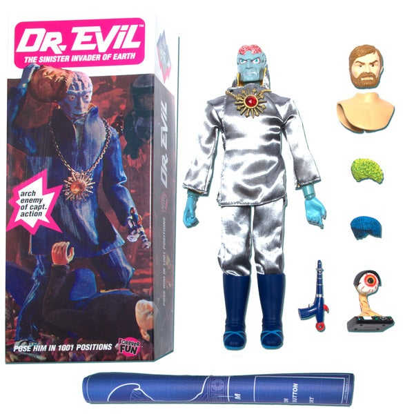 Round 2 Captain Action Dr. Evil Deluxe Figure 12910370