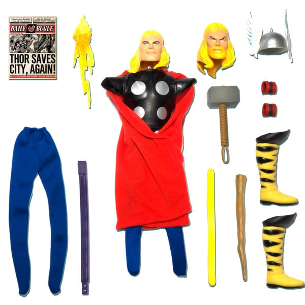 Round 2 Captain Action Thor Deluxe costume set 12910371