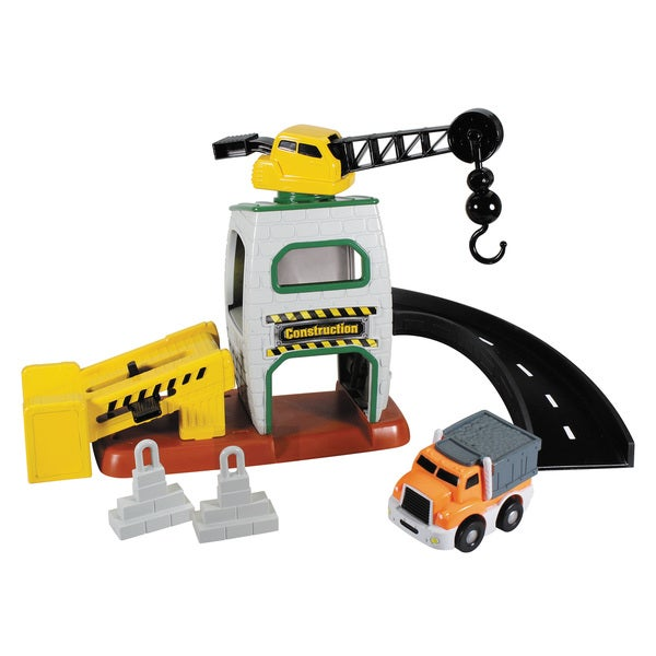 Kid Galaxy GoGo City Construction Playset