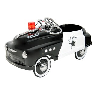 Purple Mountain Toy Company Police Pedal Car