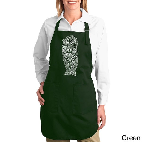 Endangered Species Tiger Kitchen Apron
