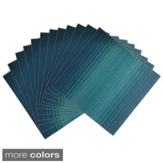 Chunky Ombre Square Placemats (Pack of 12)
