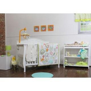 Nurture Imagination My ABC's 4-piece Crib Bedding Set