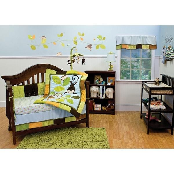 Nurture Swing 3 Piece Nursery Bedding Set