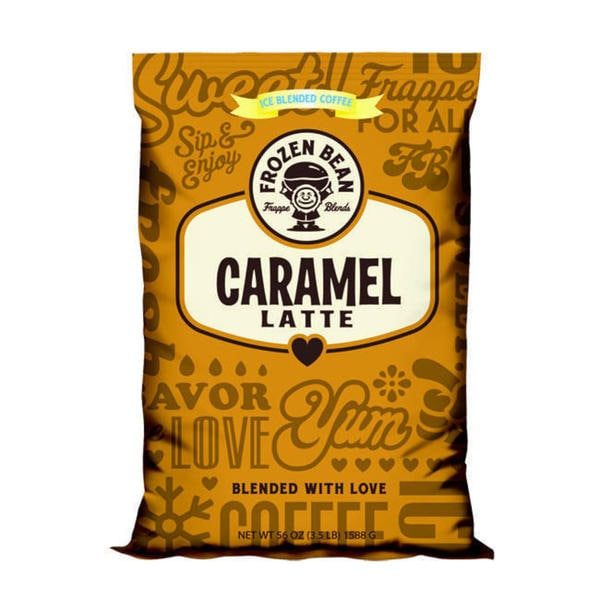 Frozen Bean Caramel Latte Mix (Case of 5) 12910919
