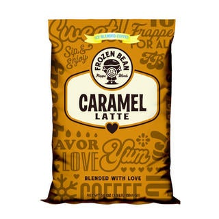 Frozen Bean Caramel Latte Mix (Case of 5)