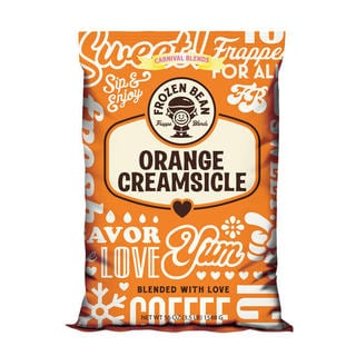 Frozen Bean Orange Creamsicle Mix (Case of 5)