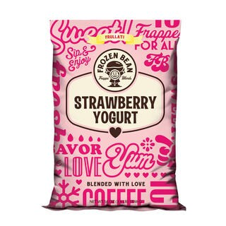 Frozen Bean Strawberry Yogurt Mix (Case of 5)