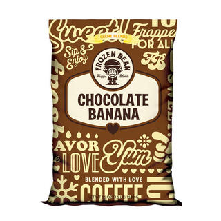 Frozen Bean Chocolate Banana Mix (Case of 5)