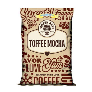 Frozen Bean Toffee Mocha Mix (Case of 5)
