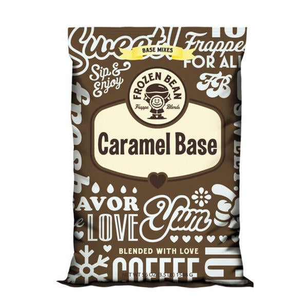 Frozen Bean Caramel Base (Case of 5)