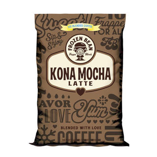 Frozen Bean Kona Mocha Latte Mix (Case of 5)