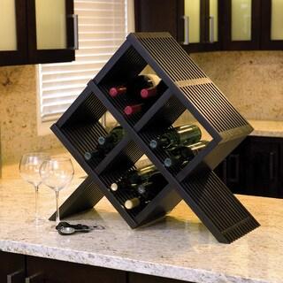 Mocha Classic Lines Wine Rack