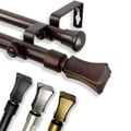 Tower Adjustable Double Curtain Rod Collection