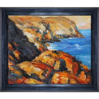 Edward Hopper 'Blackhead ' Hand Painted Framed Canvas Art