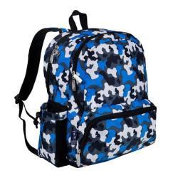 Children's Wildkin Megapak Backpack Blue Camo