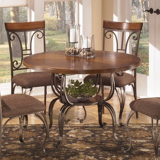Signature Design By Ashley Plentywood Round Dining Table Overstock