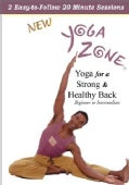 Yoga Zone: Yoga for a Strong & Healthy Back (DVD)