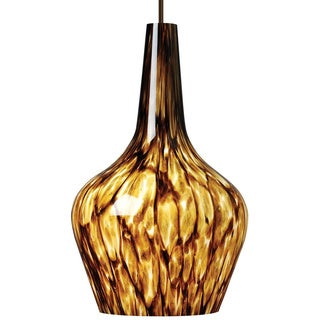Brynn 1-light Brown Mini Pendant