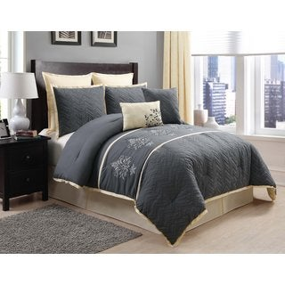 Monaco Embroidered 8-piece Comforter Set