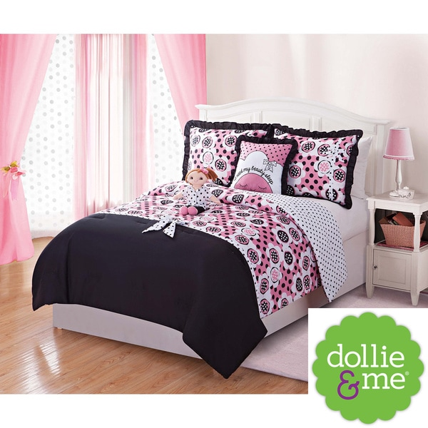 Dollie & Me 5-piece Reversible Comforter Set