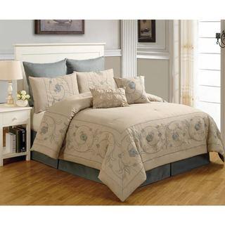 Beverly Linen 8-piece Comforter Set