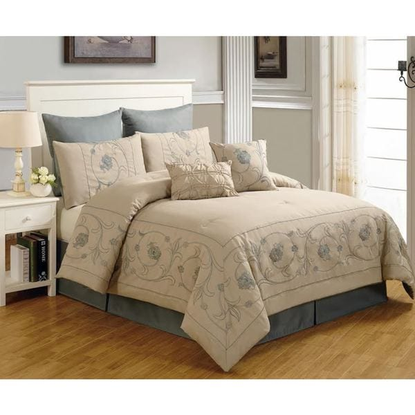 Beverly Linen 8-piece Comforter Set