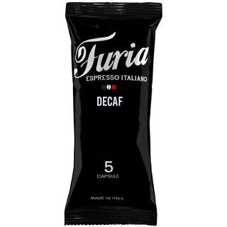 Caffe Furia Decaffeinato Italian Nespresso Compatible Coffee Capsules